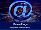 PowerPoint Template - global internet communication