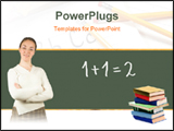 PowerPoint Template - Teacher in Classroom