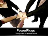 PowerPoint Template - team working together
