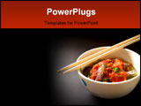 PowerPoint Template - a photo of delicious thai food and thai cuisine