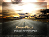 PowerPoint Template - Looking Forward Towards A Storm