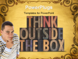 PowerPoint Template - think outside the box