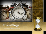 PowerPoint Template - alarm clocks