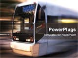 PowerPoint Template - motion of a running bus