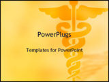 PowerPoint Template - medical symbol