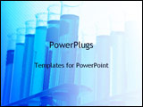PowerPoint Template - test tubes