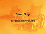 PowerPoint Template - wheel chair