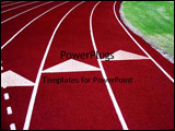 PowerPoint Template - Running Tracks
