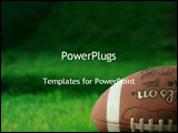 PowerPoint Template - Football on grass