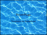 PowerPoint Template - water in a pool