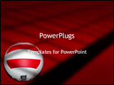 PowerPoint Template - Volley Ball
