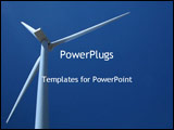 PowerPoint Template - wind mill