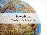 PowerPoint Template - globe