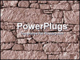 PowerPoint Template - rock wall