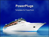 PowerPoint Template - Cruise ship