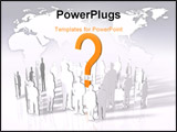 PowerPoint Template - are you wondering when the show is going to start well... everybody is