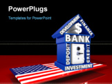 PowerPoint Template - US Banking concept