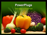 PowerPoint Template - vegetables