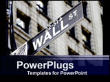 PowerPoint Template - wall street