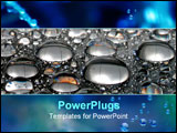 PowerPoint Template - water drops