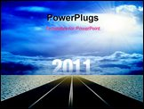 PowerPoint Template - path to new year 2011