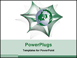 PowerPoint Template - world in web