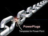 PowerPoint Template - a chain is only as strong as its weakest link