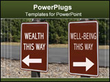 PowerPoint Template - Ever wonder if successful people really have a healthy well-being?