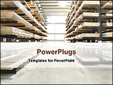 PowerPoint Template - I view of a warehouse