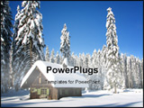 PowerPoint Template - pokljuka, slovenia, a perfect place to have a white christmas or to celebrate the new year!