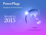 PowerPoint Template - World in the year 2015