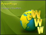 PowerPoint Template - World news