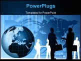 PowerPoint Template - Business World Concept. Similar images can be found at my gallery.