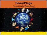 PowerPoint Template - zodiac sign